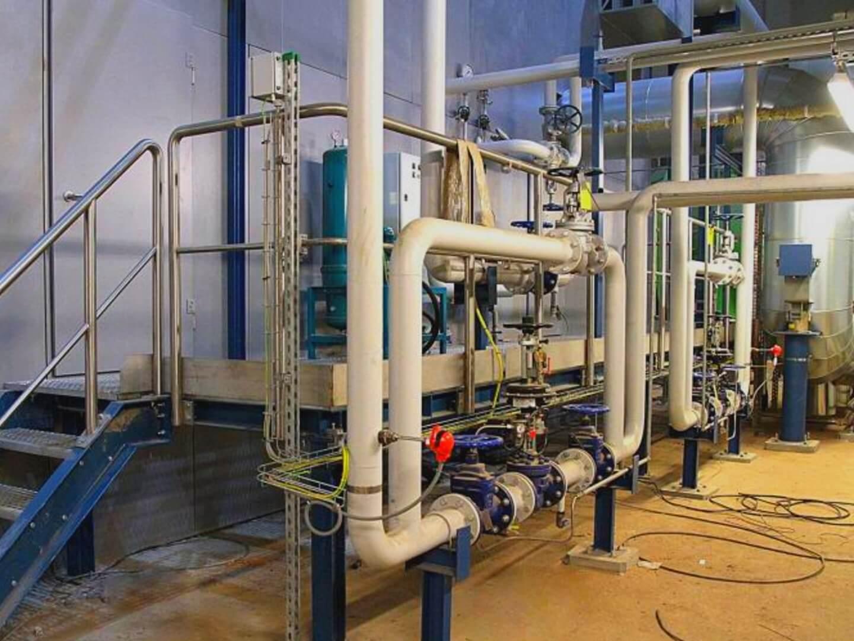 Spalarnia odpadów: nadzór drganiowy i termiczny pomp.
