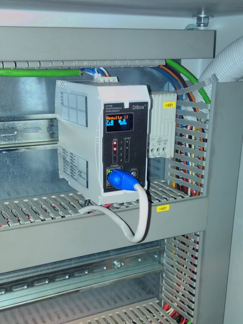 Energetyka: nadzór drganiowy generatora z turbiną gazową.