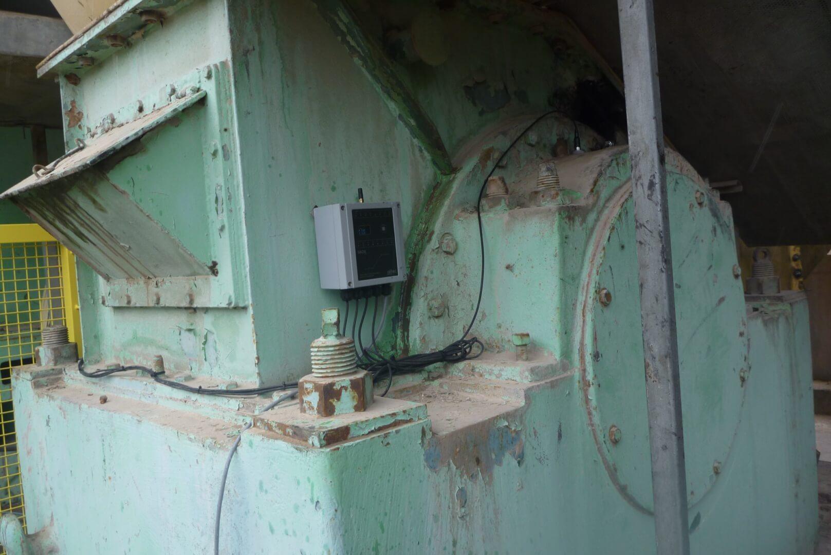 Przemysł cementowy: diagnostyka przekładni napędowej.