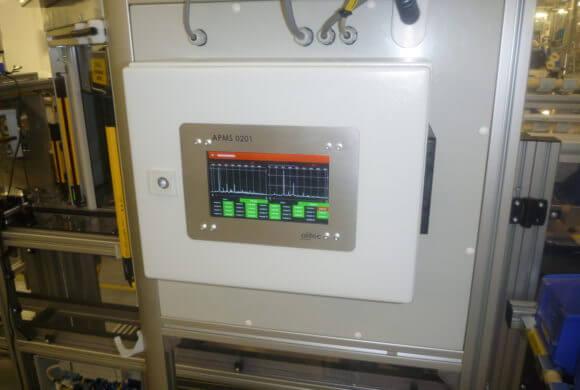 System wibracyjnej oceny jakości produktu